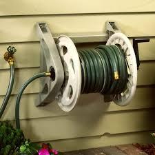 best wall mounted hose reel suncast wall mounted hosehandler hose reel walmart com