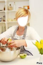 femme en cuisine photo montage femme en cuisine pixiz