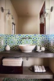 Concrete Tile Backsplash by Cluny Cement Tiles Bring Character To A Houston Bungalow U0027s Kitchen