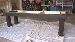 diy farmhouse bench youtube
