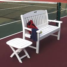 Interesting Composite Outdoor Furniture U2014 Polywood Nautical 4 Ft Recycled Plastic Porch Swing White