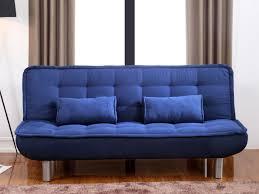 canap clic clac confortable canapé clic clac mishan bleu meubles nona canapé