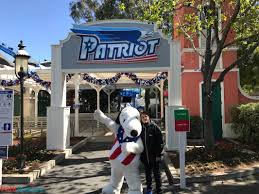 patriot is now open at california u0027s great america