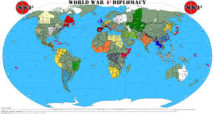 World War I Alliances Map by World War Iv Formal By Tom Reinecker