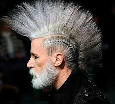 hairstyles for long hair punk grey punk long hairstyle your hair club