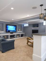Basement Renovation Ideas Low Ceiling Traditional Basement Design Pictures Remodel Decor And Ideas