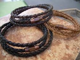 leather wrap bracelet men images Men 39 s bracelets leather bracelets for men leather etsy jpg