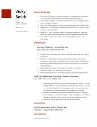 Sample Speech Pathology Resume by Physical Therapist Resume Sample Resume Examples For Massage