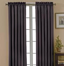 interior design cheap gray blackout curtain pair best blackout