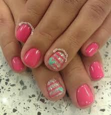 imagenes de uñas pintadas pequeñas uñas para niñas modelos y diseños faciles especiales para ellas