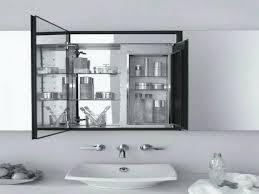 Bathroom Mirror Storage Cabinet Corner Bathroom Mirror Storage Cabinet High Gloss White