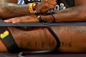 kyrie irving has a u0027friends u0027 tattoo like from the show u0027friends