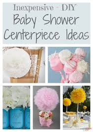 for a baby shower dollar store decorating ideas for a baby shower that are easy and