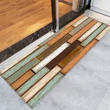 Wood Area Rug 2018 Wooden Flooring Pattern Floor Area Rug Colormix W Inch L Inch
