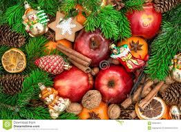 ornaments and decorations apples mandarin fruits wa