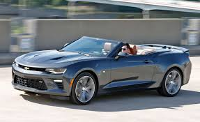 chevy camaro reviews 2016 chevrolet camaro ss convertible test review car and driver