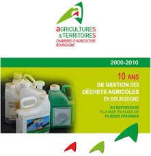 chambre d agriculture bourgogne adivalor actualités traitement des déchets evpp ppnu