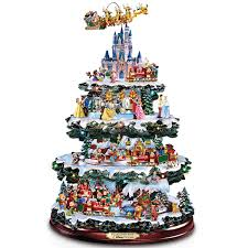 Christmas Trees Amazon Com Disney Tabletop Christmas Tree The Wonderful World Of