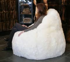 lamb fur bean bag lars paustian international furs