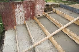 treppe betonieren betonieren der terrassentreppe zweiter teil mission wohn t raum