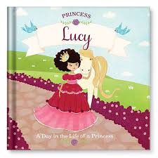 princess personalised book
