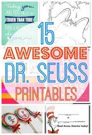 101 dr seuss ideas dr seuss free printables and printables