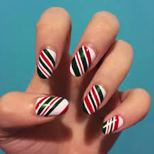 30 candy cane nail art designs ideas design trends premium