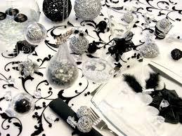 decoration mariage noir et blanc deco de mariage en noir et blanc de la classe et de la