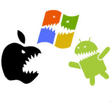 apple to android of the oses apple to eclipse microsoft android to eclipse both