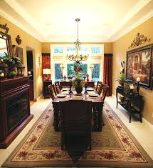 Tuscan Dining Room Tables Tuscan Dining Room Table Savvy Seasons By Adding Drama In The