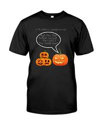halloween pumpkin ghost story shirt
