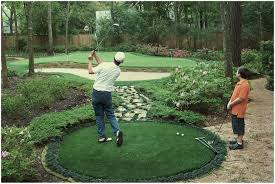 Building A Backyard Putting Green Backyard Golf Course Cost Home Outdoor Decoration