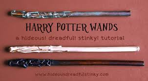 wand designs wand tutorial for diy craft at a harry potter hideous