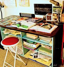 upcycle home design small art studio make over second installment