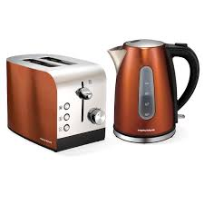 Morphy Richards Accents Toaster Review Morphy Richards Copper Accents 2 Slice Toaster And Kettle Combo