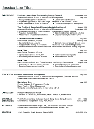 Sample Comprehensive Resume by American Format Resume Us Format Resume Cool New Resume Format 9