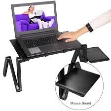 71sb3wq4mll sl1500 laptop lap desk with mouse pad for fan and laptop desk for lap