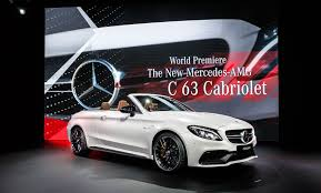 Mercedes C Class Coupe Convertible Mercedes Amg C63 Cabriolet Revealed At New York 2016 By Car Magazine