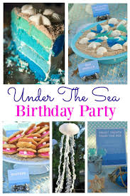 Under The Sea Centerpieces by Under The Sea Birthday Party Jpg Resize U003d1000 1500