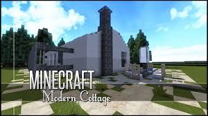 minecraft let u0027s build modern cottage youtube