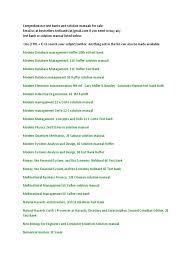 all list new part 3 strategic management economics