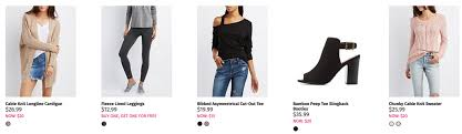 charlotte russe black friday charlotte russe black friday is live the entire store is 20 or