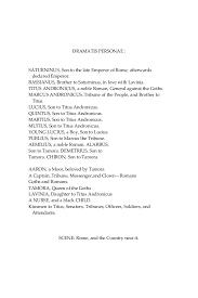 Spell Resume Titus Andronicus William Shakespeare Ebook