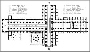 Wells Cathedral Floor Plan Bell U0027s Cathedrals The Cathedral Church Of St Paul By Arthur Dimock