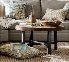 pottery barn griffin round coffee table unique griffin coffee table pottery barn awesome home design
