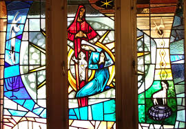 stained glass window stained glass windows peace lutheran church