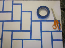 painting patterns with tape how tos diy paint horizontal stripes