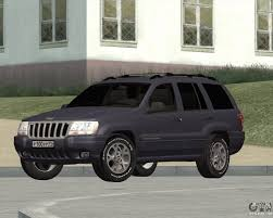 monster jeep grand cherokee jeep grand cherokee for gta san andreas