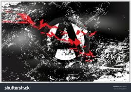 Anarchy Flag Light Grunge Effect Anarchy Flag Stock Vector 144721234 Shutterstock