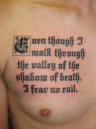 tattoos for quotes chest ideas